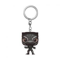 Figurine Pop Pocket Porte-clés Marvel Black Panther Funko Figurines Pop! Geneve