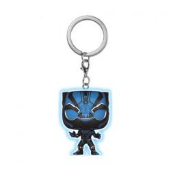 Figuren Pop Pocket Marvel Black Panther Phosphoreszierend Funko Genf Shop Schweiz