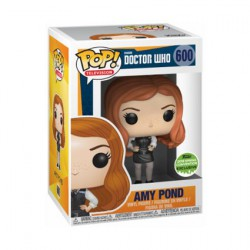 Figurine Pop ECCC 2018 Doctor Who Amy Pond Police Edition Limitée Funko Boutique Geneve Suisse