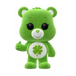 Figuren Pop ECCC 2018 Care Bears Good Luck Bear Beflockt Limitierte Auflage Funko Genf Shop Schweiz