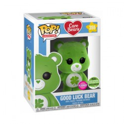 Figuren Pop ECCC 2018 Care Bears Good Luck Bear Beflockt Limitierte Auflage Funko Genf Shop Schweiz