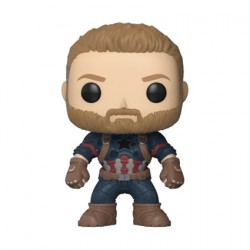 Figurine Pop Marvel Avengers Infinity War Captain America Funko Boutique Geneve Suisse
