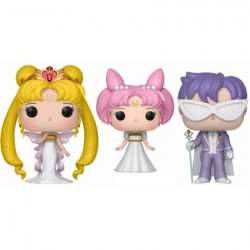Figurine Pop Sailor Moon Queen Lady and King 3-Pack Edition Limitée Funko Boutique Geneve Suisse