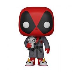 Figurine Pop Marvel Deadpool Bedtime (Rare) Funko Boutique Geneve Suisse