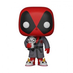 Figuren Pop Marvel Deadpool Deadpool in Robe Funko Figuren Pop! Genf