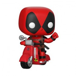 Figurine Pop Rides Marvel Deadpool sur Scooter (Rare) Funko Boutique Geneve Suisse