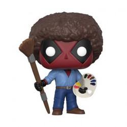 Figurine Pop Marvel Deadpool Bob Ross Deadpool Funko Boutique Geneve Suisse