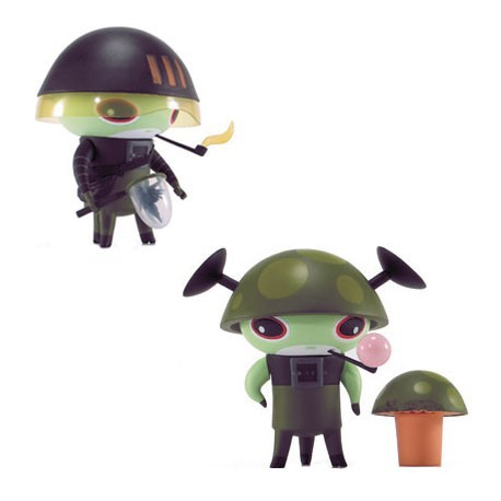 Figurine Naal Vert par Nathan Jurevicius Kidrobot Boutique Geneve Suisse