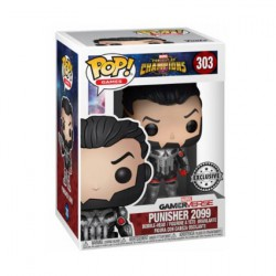 Figurine Pop Marvel Contest of Champions Punisher 2099 Edition Limitée Funko Boutique Geneve Suisse