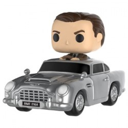 Figurine Pop Rides James Bond Sean Connery in Aston Martin Funko Boutique Geneve Suisse