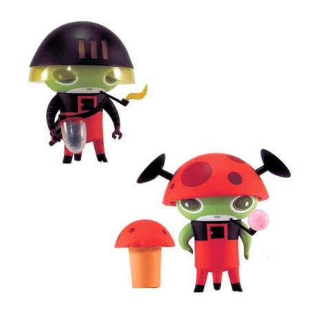 Figuren Naal Red von Nathan Jurevicius Kidrobot Genf Shop Schweiz
