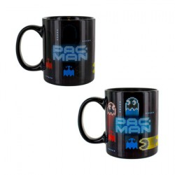 Pac-Man Neon Heat Change Mug (1 pcs)