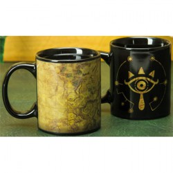 Figurine Tasse Thermosensible The Legend of Zelda Sheikah Eye (1 pcs) Paladone Boutique Geneve Suisse