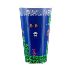 Super Mario Bros Glass (1 piece)