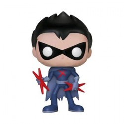 Figurine Pop Teen Titans Go Robin as Red X Unmasked Edition Limitée Funko Boutique Geneve Suisse