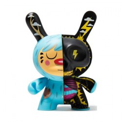 Figurine Dunny 12.5 cm Mr. Watt Half Ray par Johnny Draco Boutique Geneve Suisse