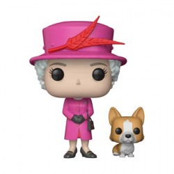 Figurine Pop Celebs Royal Family Queen Elizabeth II Funko Précommande Geneve