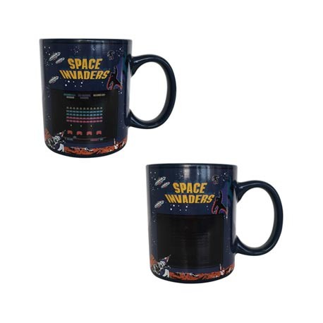 Figur Space Invaders Heat Change Mug (1 pcs) Paladone Geneva Store Switzerland
