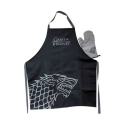 Figur Game Of Thrones Stark Apron and Oven Mitt Set Geneva Store Switzerland