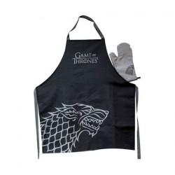 Figuren Game Of Thrones Stark Apron and Oven Mitt Set Genf Shop Schweiz