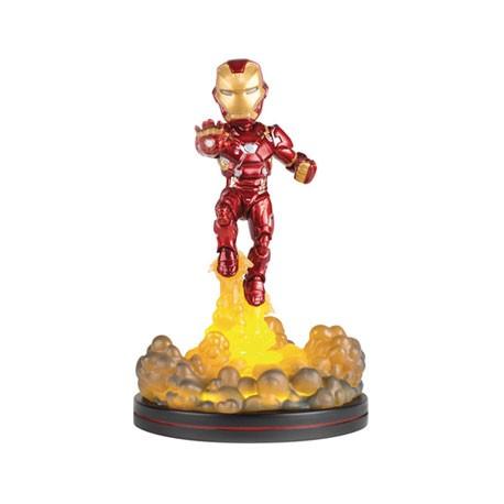 Figurine Marvel Iron Man Light-Up Q-Fig Quantum Mechanix Boutique Geneve Suisse