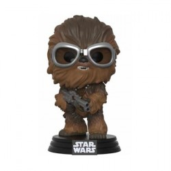 Figurine Pop Star Wars Han Solo Movie Chewbacca with Goggles Boutique Geneve Suisse