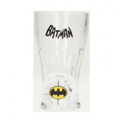 Figurine Verre Batman avec Logo Rotatif Boutique Geneve Suisse