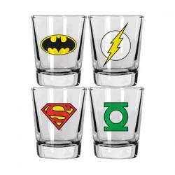 Figuren DC Comics Set of 4 Shot Glasses Genf Shop Schweiz