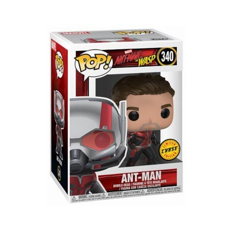 Figurine Pop Marvel Ant-Man and The Wasp Ant-Man Edition Limitée Chase Funko Boutique Geneve Suisse