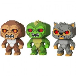 Figur Pop 8-bit Rampage 3-Pack George Lizzie Ralph Limited Edition Funko Geneva Store Switzerland