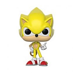 Figurine Pop Games Sonic Super Sonic Edition Limitée Funko Boutique Geneve Suisse