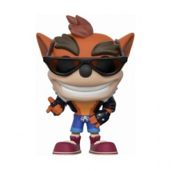 Figuren Pop Games Crash Bandicoot with Biker Outfit Limitierte Auflage Funko Figuren Pop! Genf