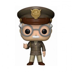 Figurine Pop Marvel Stan Lee Cameo Army General Edition Limitée Funko Boutique Geneve Suisse