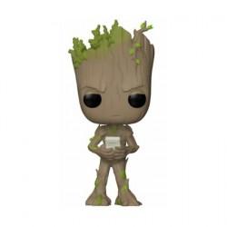 Figuren Pop Marvel Avengers Infinity War Teen Groot with Video Game Limitierte Auflage Funko Genf Shop Schweiz
