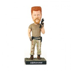 Figurine The Walking Dead Abraham Bobble Head en Résine Royal Bobbleheads Boutique Geneve Suisse