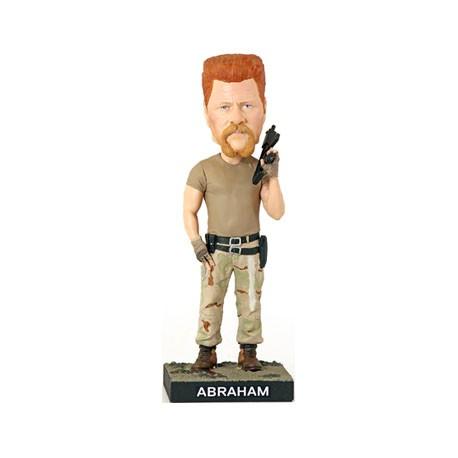 Figurine The Walking Dead Abraham Bobble Head en Résine Royal Bobbleheads Boutique Geneve Suisse