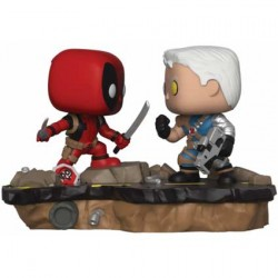 Figurine Pop Marvel Movie Moments Deadpool vs Cable Funko Boutique Geneve Suisse
