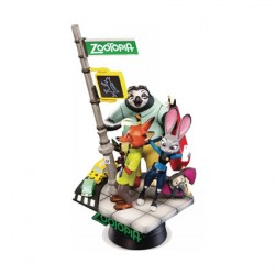 Figur Disney Select Zootopia Diorama Beast Kingdom Geneva Store Switzerland