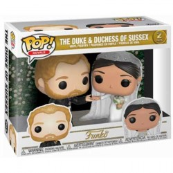 Figurine Pop Celebs Royal Family The Duke and Duchess of Sussex 2 Pack Funko Boutique Geneve Suisse
