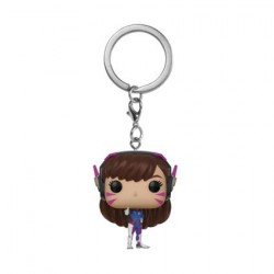 Figurine Pop Pocket Porte-clés Overwatch D.Va Funko Boutique Geneve Suisse