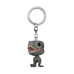 Figurine Pop Pocket Porte-clés Jurassic World Blue Funko Boutique Geneve Suisse