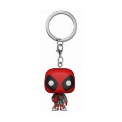 Figuren Pop Pocket Schlüsselanhänger Marvel Deadpool Bath Robe Limitierte Auflage Funko Genf Shop Schweiz