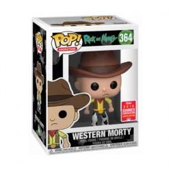 Figurine Pop SDCC 2018 Rick et Morty Western Morty Edition Limitée Funko Boutique Geneve Suisse