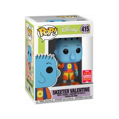 Figurine Pop SDCC 2018 Disney Doug Skeeter Valentine Limitée Funko Boutique Geneve Suisse