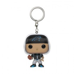 Figurine Pop Pocket Porte-clés NFL Cam Newton Carolina Panthers Funko Figurines Pop! Geneve