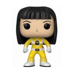 Figurine Pop TV Power Rangers Yellow Ranger without Helmet Funko Boutique Geneve Suisse