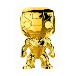 Pop Marvel Studios 10 Anniversary Iron Man Chrome Limited Edition