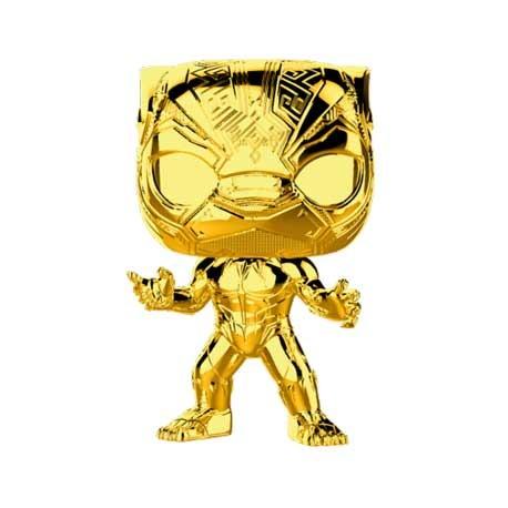 Figuren Pop Marvel Studios 10 Anniversary Black Panther Chrome Limitierte Auflage Funko Genf Shop Schweiz