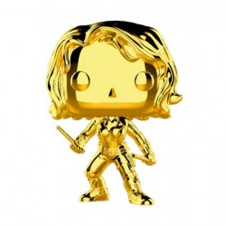 Figuren Pop Marvel Studios 10 Anniversary Black Widow Chrome Limitierte Auflage Funko Genf Shop Schweiz
