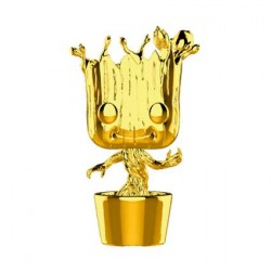 Figuren Pop Marvel Studios 10 Anniversary Dancing Groot Chrome Limitierte Auflage Funko Genf Shop Schweiz